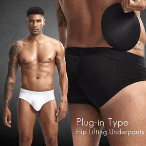 Have you ever heard of butt push up cups or pads for men?