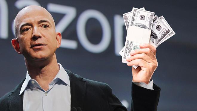 "Bezos seen asking ""Who dropped this garbage?"""