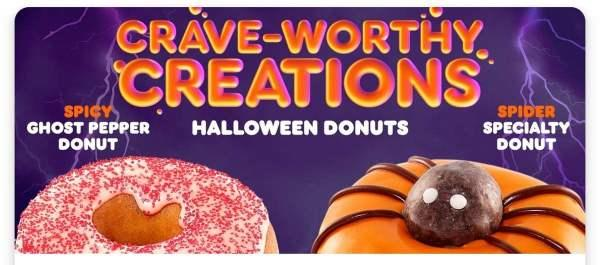 Have you heard of Dunkins new ghost pepper donut, have you tried it and would you try it?