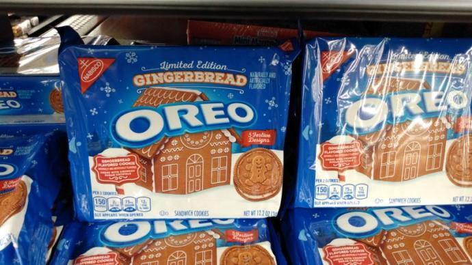 What do you think of gingerbread oreos?