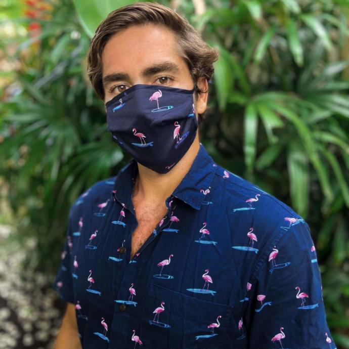Do you believe matching masks and outfits will be a thing next year in the dating scene?