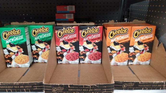 What do you think about Cheetos Mac and Cheese?