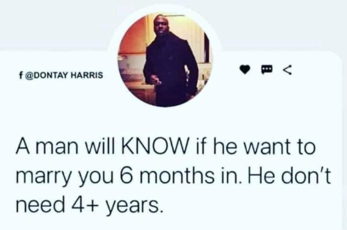 Why when a man be with a woman for 9 years, but will break up with her and gets with another woman and gets married within a year?