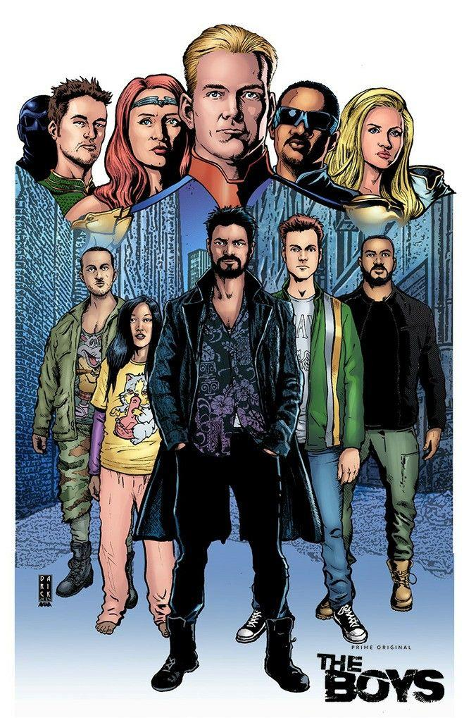 Who is your favorite character from Garth Ennis The Boys?