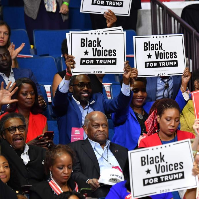 Trump has 46% approval among Black Americans , Is it all over for Biden?