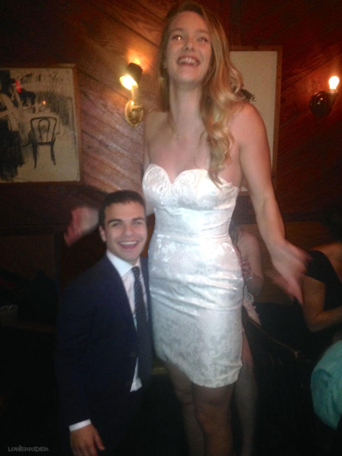 Which tall woman with short man do you think has the best dating life?