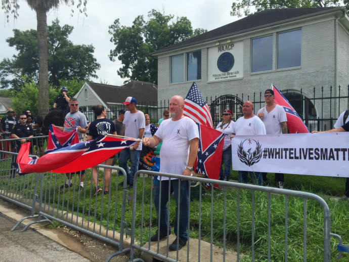 Why do the whitelivesmatter group always look redneck as fuck?