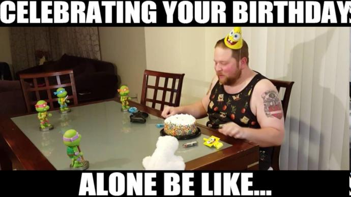 Is it bad to celebrate your birthday alone?