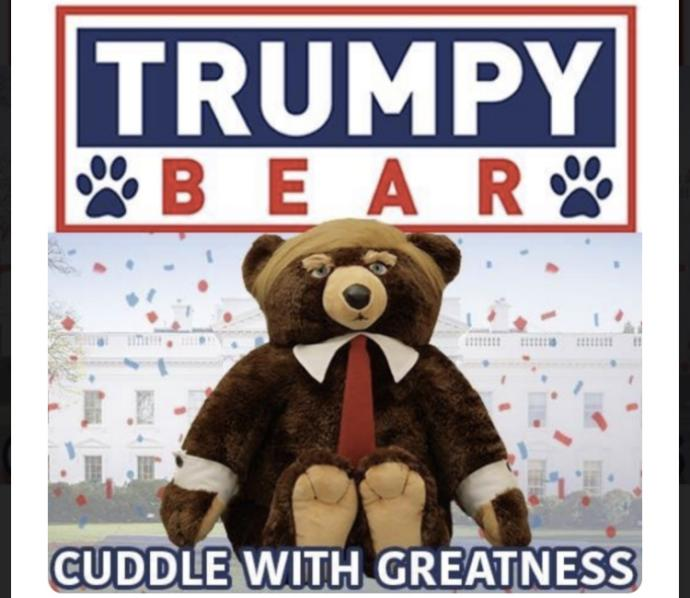 Trumpets, would you buy a Trumpy bear?