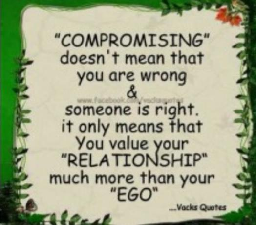 What Things Are You Willing To Compromise On In A Relationship? And What Are You Not Willing To Compromise?