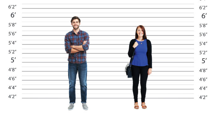 Guys, Does height play a significant role when a man picks a woman?
