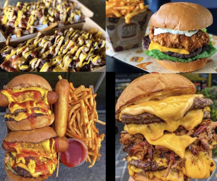 Which restaurant's food below looks the tastiest?