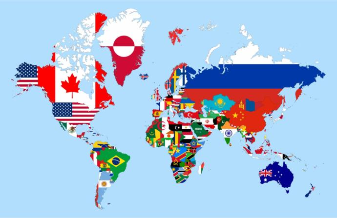 Would you be able to find at least a quarter of the approximately 200 countries on a world map?