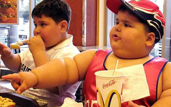 Should it be against the law to make children obese?