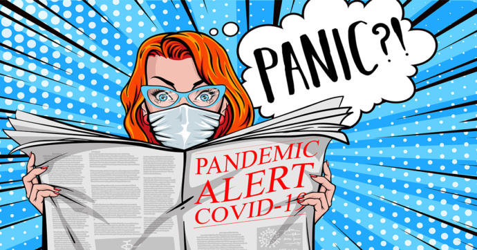 If it wasnt for the media scaremongering and sensationalism, would people even know there was a pandemic going on?