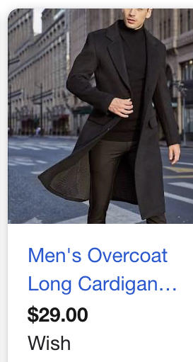 Do you think that my boyfriend will like this coat based on what he likes?