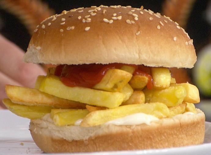 French Fry Sandwich Anyone?