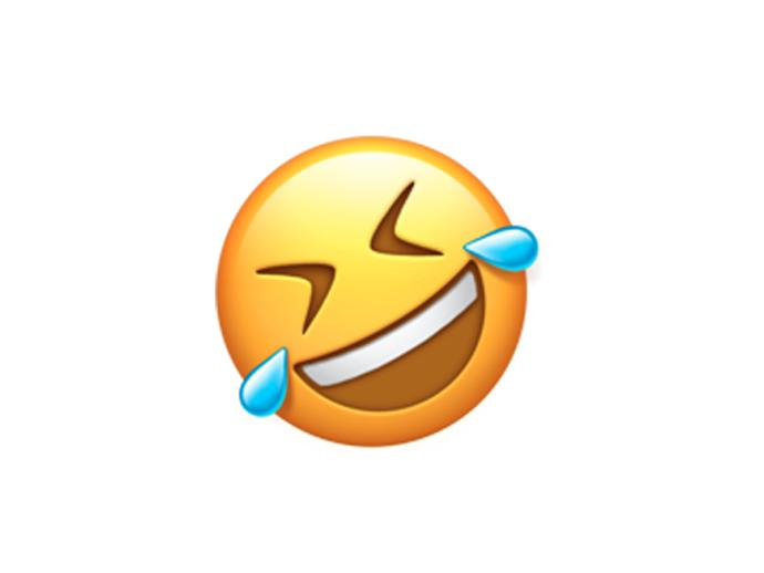 Does everyone who use the emoji below think everything is funny - including death?