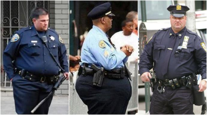 Does anyone else feel disgusted by fat and out of shape Police Officers?