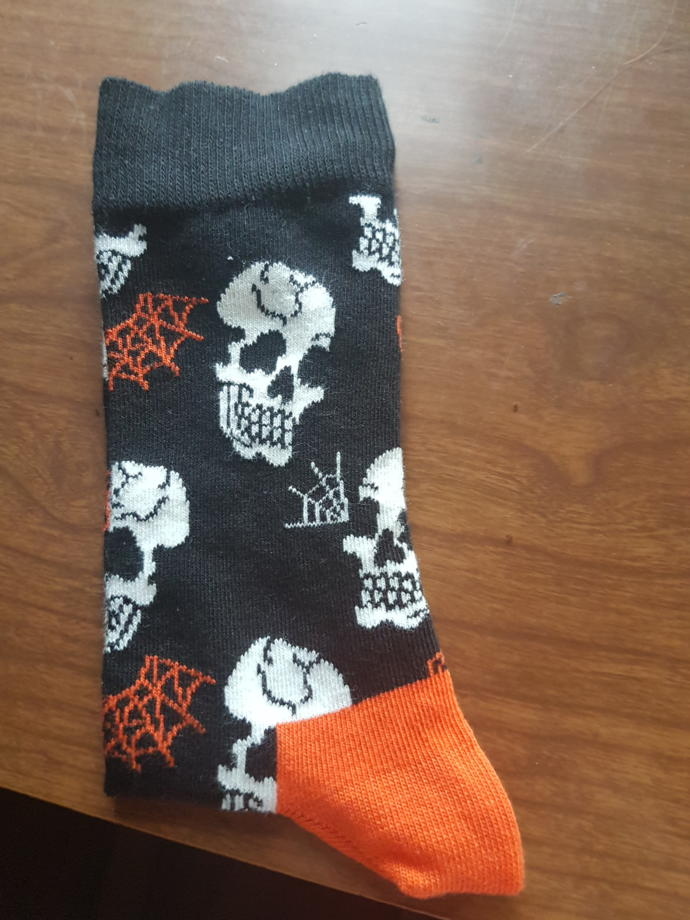 Which socks would you buy for this Halloween activity?
