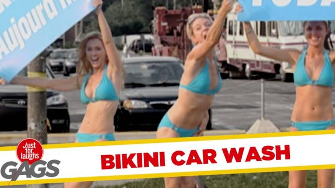 GAGs BIKINI CAR WASH