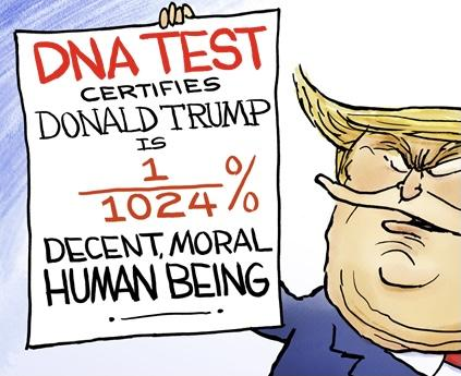 Trump is fighting giving his DNA in his rape case. Does that mean he's guilty?