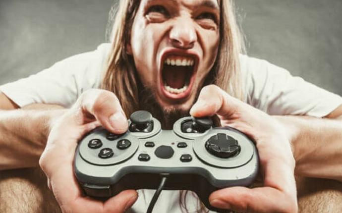 Do you ever get video game rage? If yes, where does it stop?