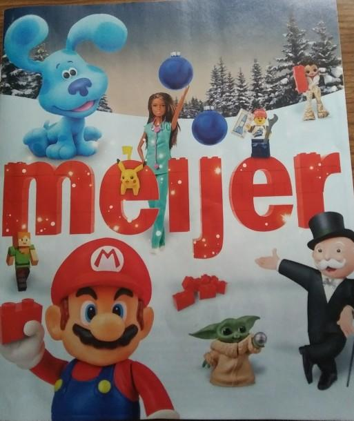 Which Toy from the Meijer Toy Ad is the most interesting?