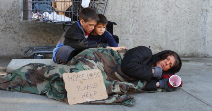 What would you do to help the less fortunate (temporarily)?