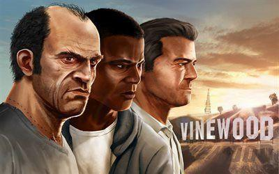 Who is your favorite main character from GTA5️⃣?💥🏍️🚓🚁🌃💵🎶?