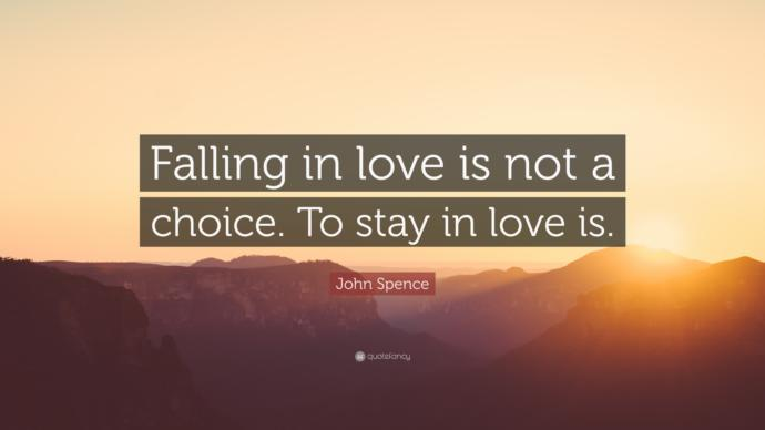 Which kind of love is better, a strong feeling of need, or love that is a choice?