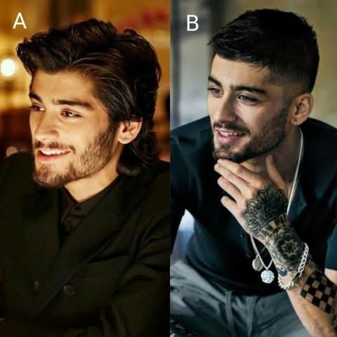 Between the two hairstyles which one you find more attractive on a guy?