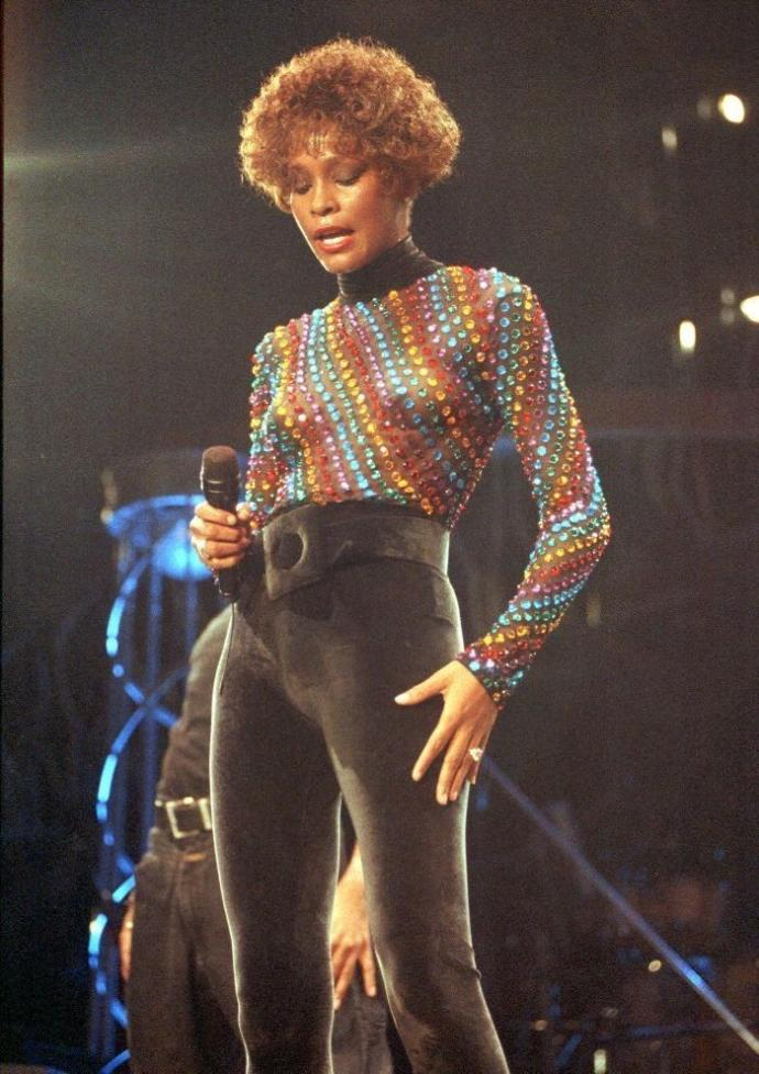 Which Whitney Houston outfit you like most?