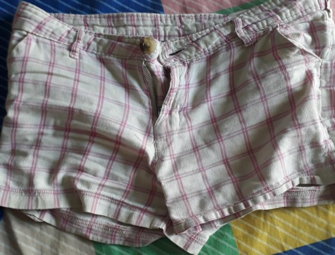 Is mum wearing hot pants to attract guests?