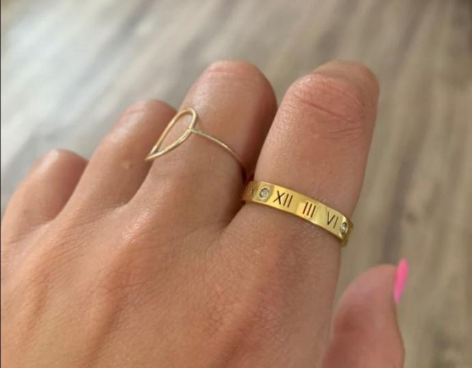 Does this ring (w/ roman numerals) look great?