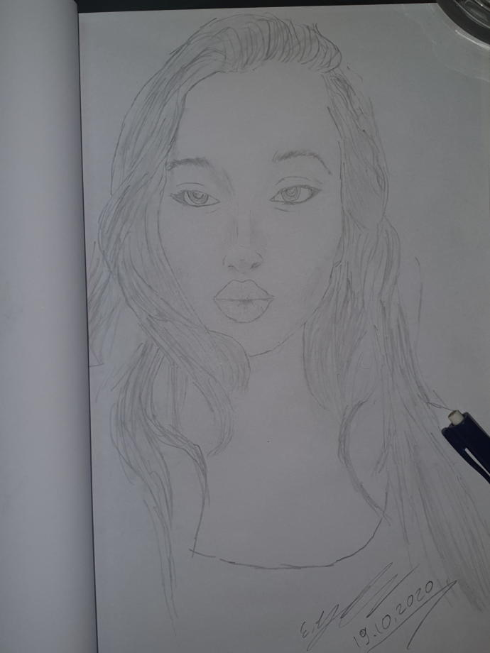 How is she what do you think about this drawing?