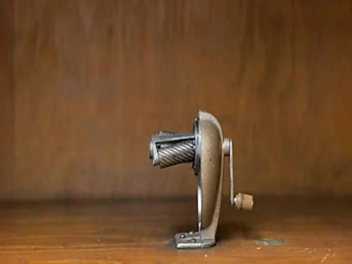 Have you ever used half of a pencil sharpener?
