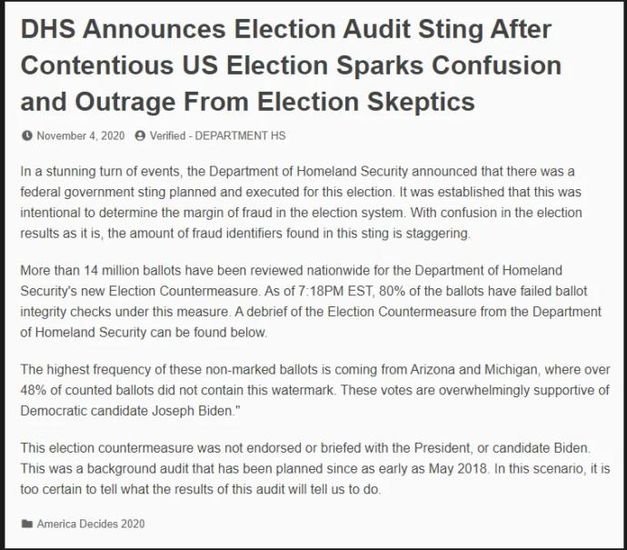 What do you think of Trump recent drama announcing that he has won, suing states to stop further votes from being counted, and his supporters protesting votes being counted?