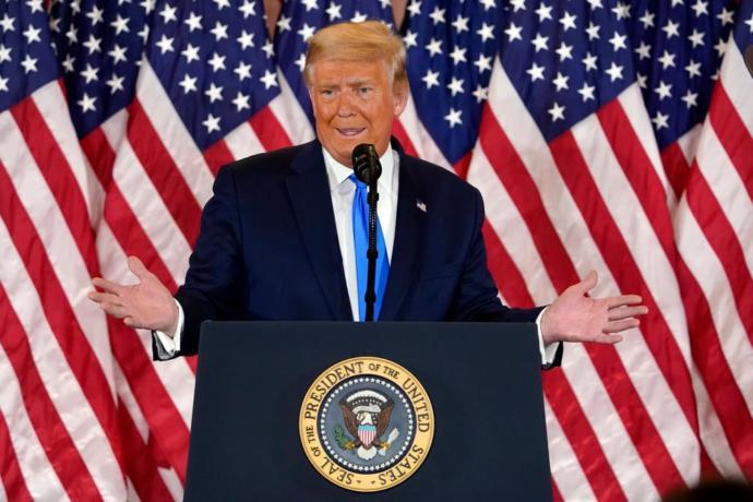 Was Trumps 2am address last night traitorous?