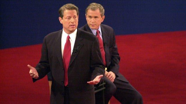 Was the Al Gore versus George Bush presidential race in 2000 the most controversial of all-time through 2020?
