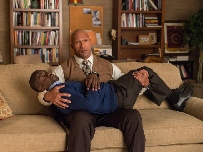 Do you think Dwayne Johnson and Kevin Hart make a great team duo in movies?