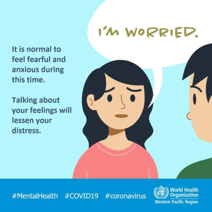Do you think mental health issues rising are more worrying than actual COVID-19?