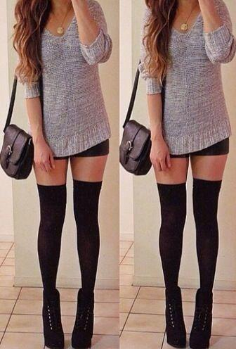 HOT or NOT - over-the-knee socks?