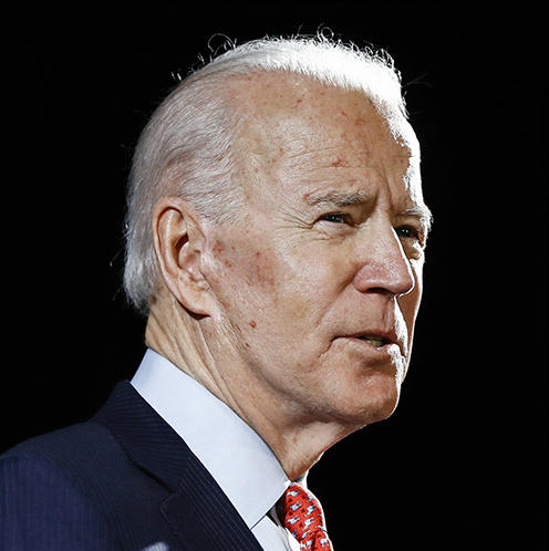Do you like Biden or are you anti-Trump?