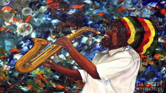 In what artistic expression do you think Africa has made the greatest contribution to the world?