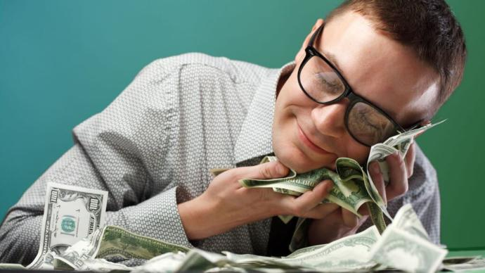 Why are some men so obsessed with money?