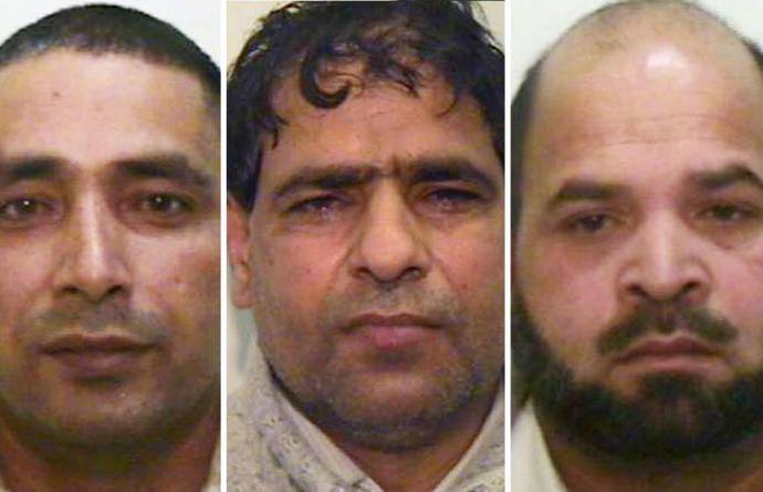 Grooming gang members in Rochdale