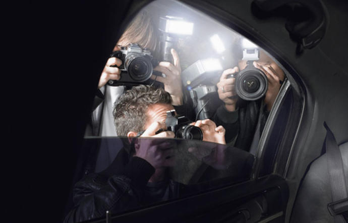 Do you think celebrities deserve laws to protect them from Paparazzi following them around 24/7 and camping out in front of their houses?