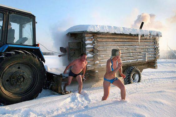 Would you ever try Hot Sauna, Cold Plunge?
