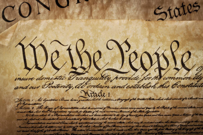Do you support the US Constitution exactly the way it is, or do you want to see some part of it changed?